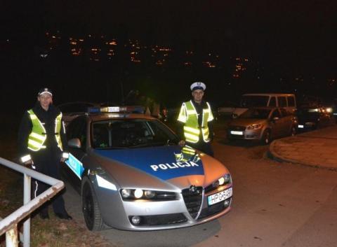 Akcja Znicz: Więcej policjantów na sądeckich drogach