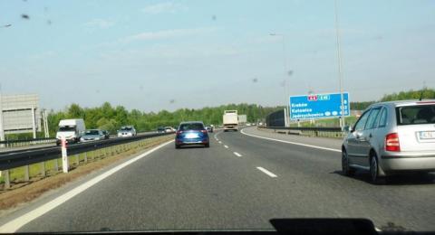 Zamiast gazu do dechy, znowu remont na autostradzie A4