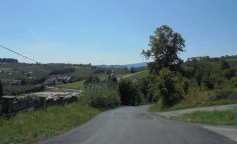 remont drogi w Czarnym Potoku