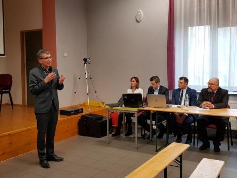 Barciczanie: puśćcie tranzyt przez Wawel! Gorąco na spotkaniu w sprawie DK 87