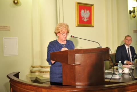 Bożena Jawor, przewodnicząca Rady Miejskiej