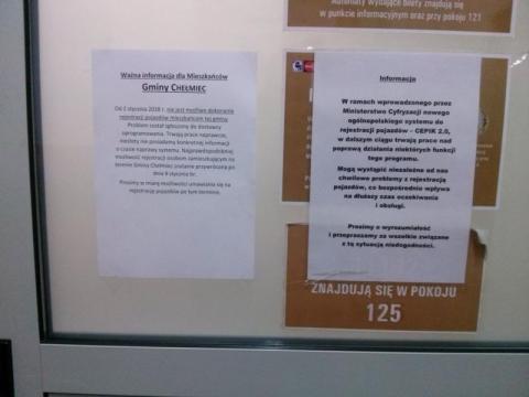 Chełmiec: Kiedy mieszkańcy w końcu będą mogli zarejestrować swoje samochody?