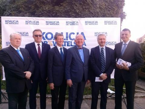 Niby Koalicja Obywatelska a jedynki na listach do rady miasta zgarnęło PO