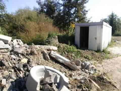 Nowy Sącz/Zawada: to już wysypisko śmieci czy jeszcze plac budowy?