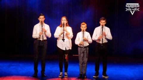 """Sądeckie Młode Talenty: Kwartet klarnetowy """"CLARIBEL"""" tworzą młodzi ludzie z wielkim talentem"""