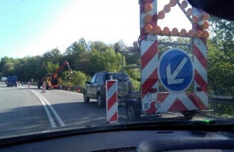 Utrudnienia na drogach powiatowych