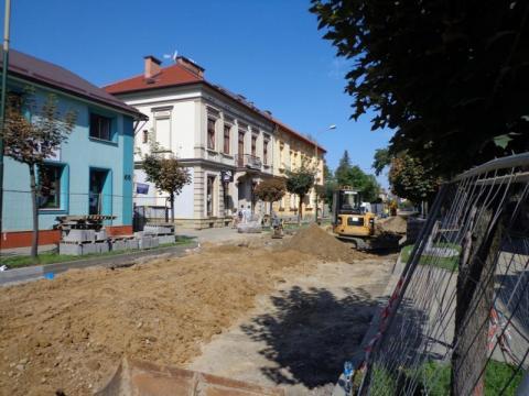 Nowy Sącz / remont Długosza. Co drogowcy wskórali przez ostatnie 9 dni?