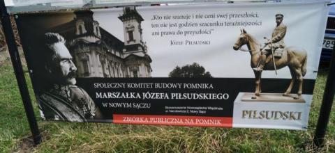 Powstaje pomnik marszałka Piłsudskiego
