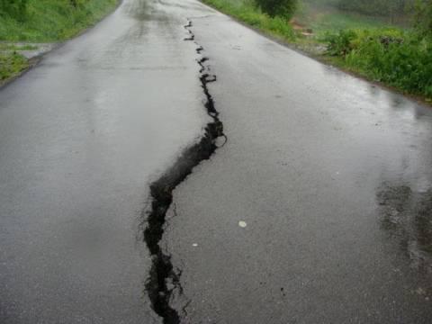 zamknięta droga w Chełmcu