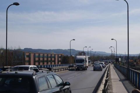 rozkład jazdy, objazdy po zamknięciu mostu heleńskiego