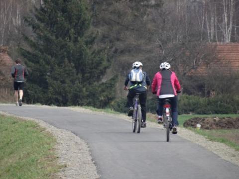 Jak dopieścićak dopieścić cyklistę za 160 tysięcy złotych na ścieżce rowerowej