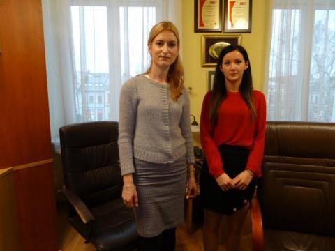 Nowe pracownice w sekretariacie Urzędu Miasta, fot. Iga Michalec