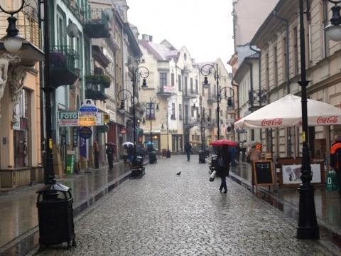 Nowy Sącz, ulica Jagiellońska