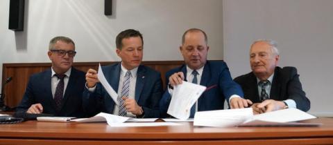 Projekt Kulinarna Sądecczyzna - podpisanie umowy
