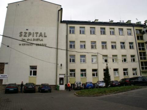 Krynicki szpital wyszedł na prostą. Przed czasem spłacił wykonawcę