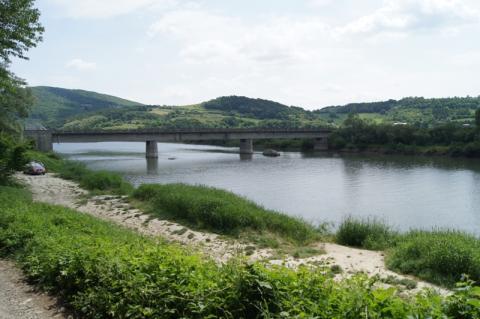 most w Kurowie