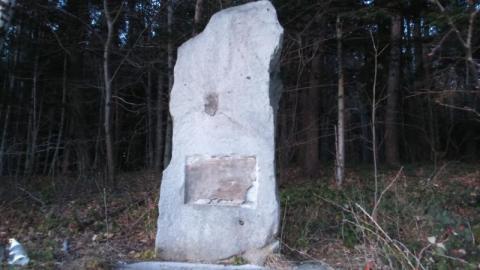 Z pomnika w Kaninie została usunięta tablica