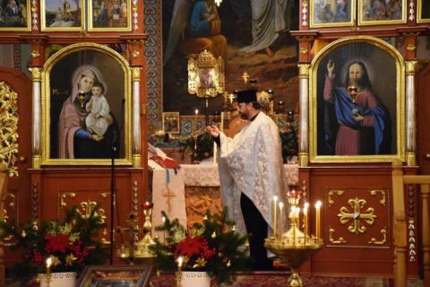 Krynica-Zdrój: Prawosławni i grekokatolicy świętują Boże Narodzenie