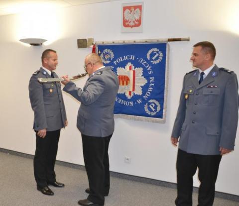 Krzysztof Chochliński pożegnał się z sądecką policją