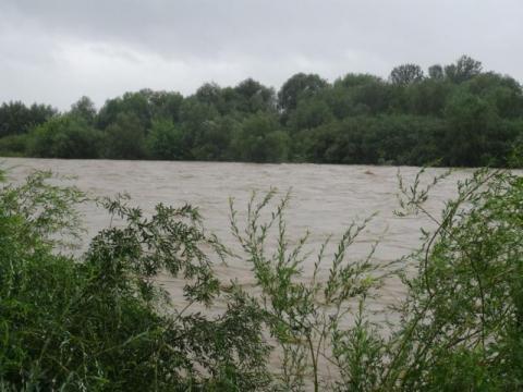Rzeki opadają