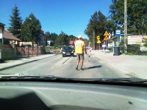 remont ulicy Kraszewskiego w Krunicy