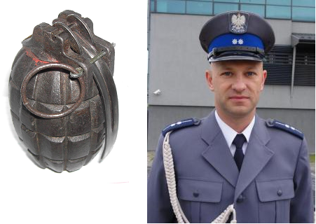 Szczawnica: Dwa granaty wisiały na drzewie w reklamówce! Przypadek czy zamach?