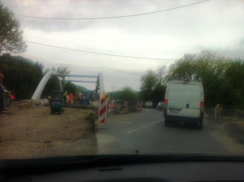 Co się dzieje na drodze do Brzeska. Tam też korki