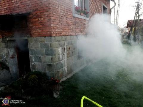Co się stało w Grybowie? Kłęby dymu wydobywały się z domu
