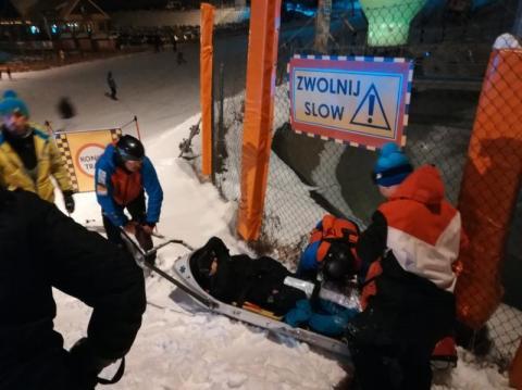 Ratował dziecko na narciarskim stoku. Skończyło się fatalnie