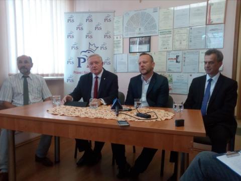 Dariusz Prusak kandydatem PiS na burmistrza Limanowej