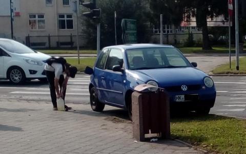 Wypadek? Awaria? Dlaczego Niemiec utknął na skrzyżowaniu w centrum miasta?