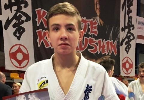 Młody karateka z Limanowej stanie do walki na Mistrzostwach Europy w Rosji!