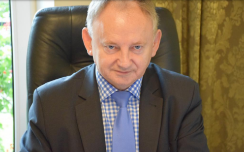 burmistrz Jan Golba. Fot. MK