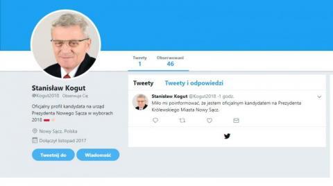 Fałszywe konto senatora w social mediach