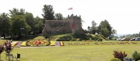 Nowy Sącz: Nie odbudują, ale podświetlą ruiny zamku