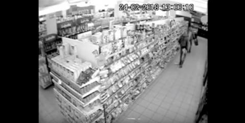 Nowy Sącz: Co i jak się teraz kradnie? Zobacz nagranie z monitoringu przy Browarnej [WIDEO]