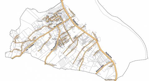 Nowe ulice w Tęgoborzy