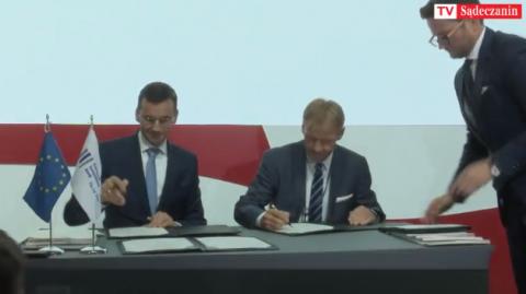 Na Forum Ekonomicznym Polska dostała miliard na rozwój nauki i energetyki [WIDEO]