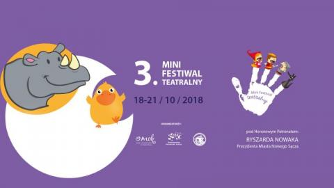 Teatr nie tylko dla dorosłych. III Mini Festiwal czeka na najmłodszych widzów!