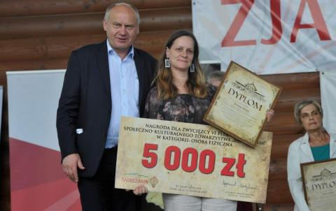 Monika Madej wygrywa plebiscyt SKT Sądeczanin!