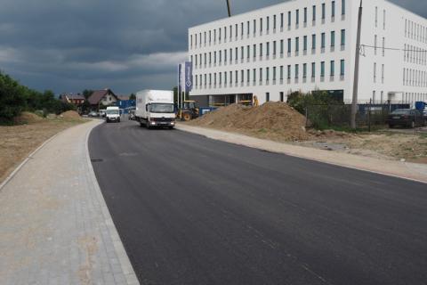Jak zostanie nazwana nowa ulica, przy której stanął Sąd Rejonowy?