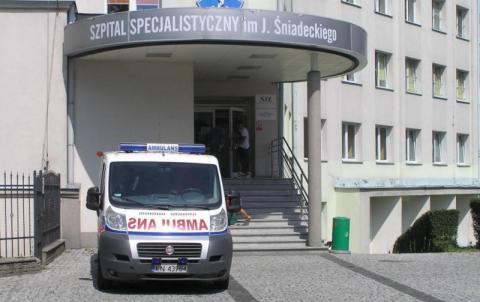 szpital w Nowym Sączu
