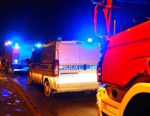 Wypadek w Słopnicach