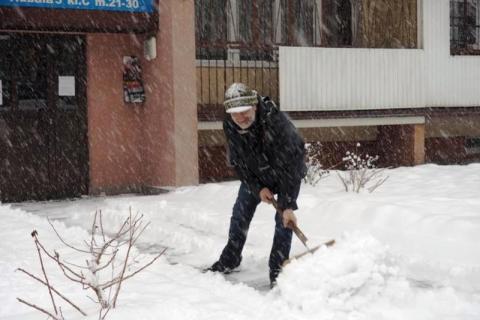 Nowy Sącz pod śniegiem