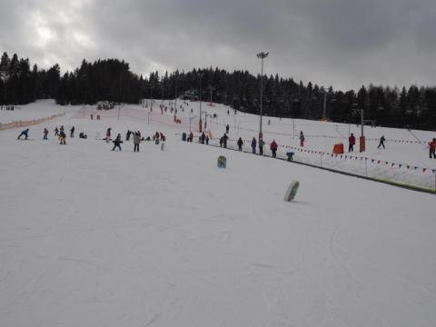 Zimowe szaleństwo na stoku Tylicz.ski. Warunki są znakomite [WIDEO]