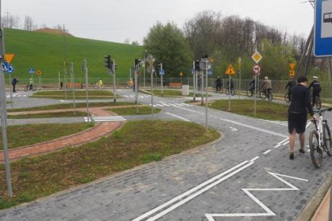 W Korzennej otworzyli miasteczko ruchu drogowego
