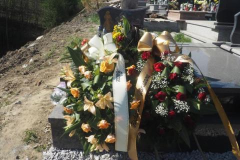 Na cmentarzu gołąbkowickim odbył się pogrzeb Damiana R. Zabójca z Jersey zmarł w brytyjskim więzieniu