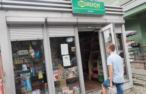 kiosk Ruchu w nowym Sączu