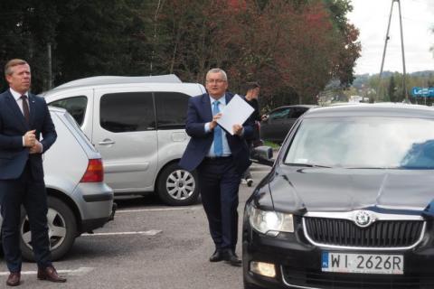 """Minister Adamczyk przy drodze Brzeska mówił o """"Sądeczance"""". Konkrety czy bzdety?"""