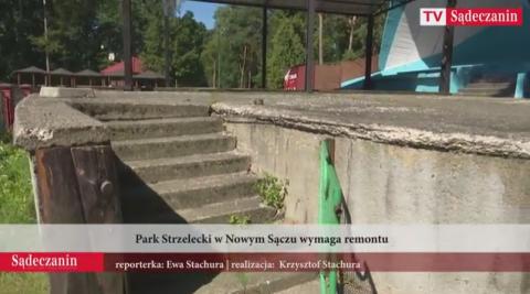 Sądeczanie chcą Parku Strzeleckiego od zaraz! Mają dość czekania na unijne projekty